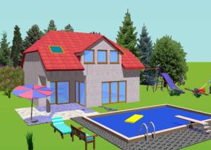 Haus Bist / Bauweise: Schalungssteine