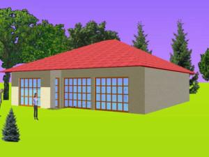 Haus Blies / Bauweise: Schalungssteine / Schalsteine