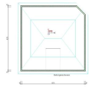 Haus Nahe Kehle / Bauweise: Schalungssteine