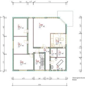Haus Nahe Dachgeschoss / Bauweise: Schalungssteine