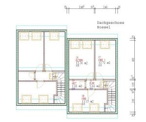 Haus Rossel Dachgeschoss / Bauweise: Schalungssteine