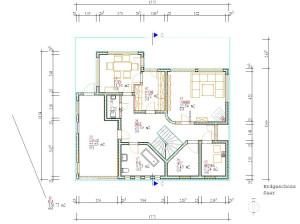 Haus Saar Beispiele Schalungssteine / Schalsteine / Schalsteinhaus