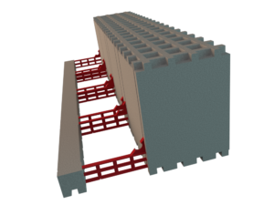 L-Element für Deckenrandschalung