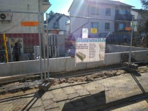 Bausatzhaus Anbau an Haus